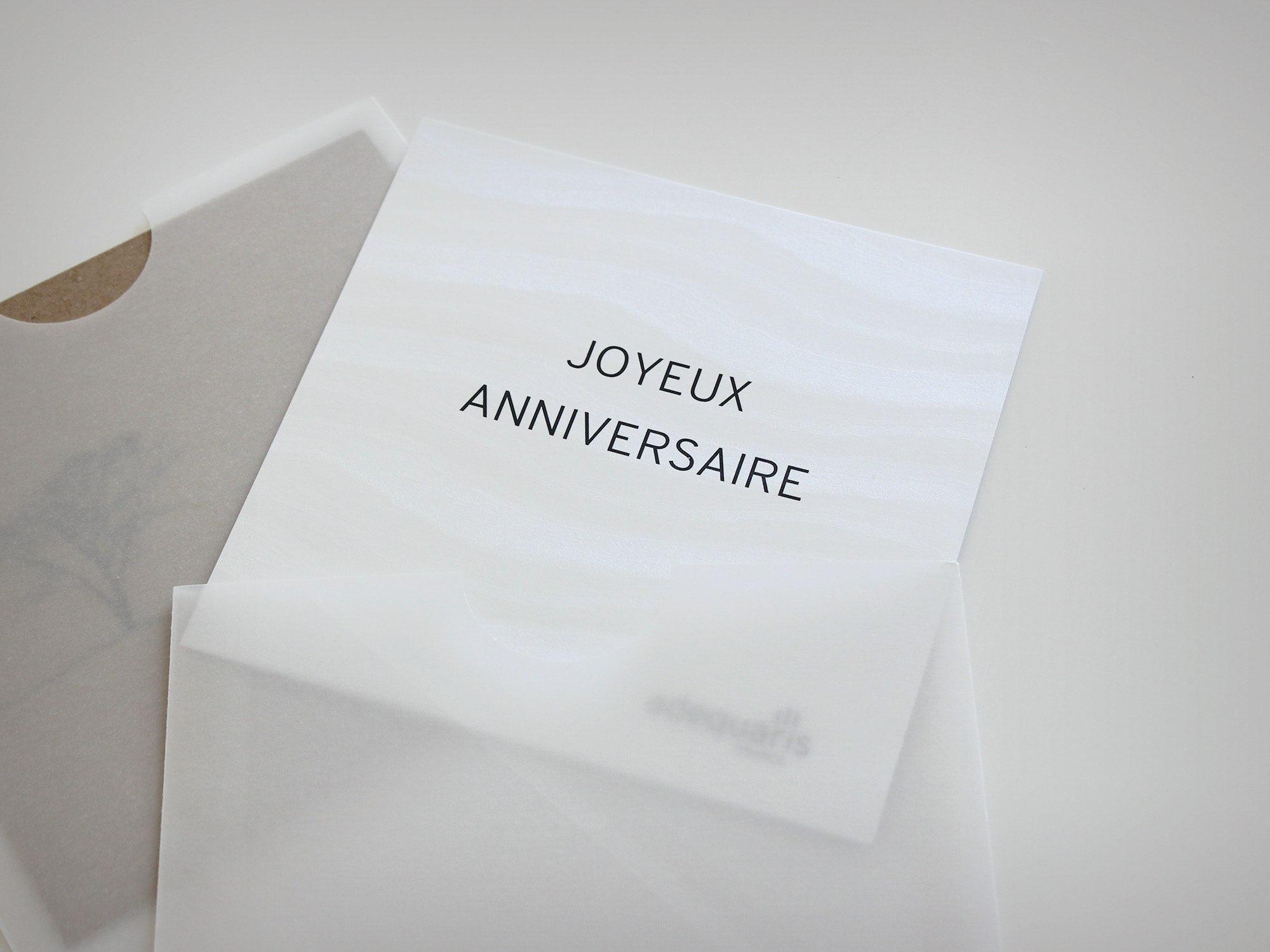 Adequaris SA – Carte de vœux «joyeux anniversaire» par Créambule