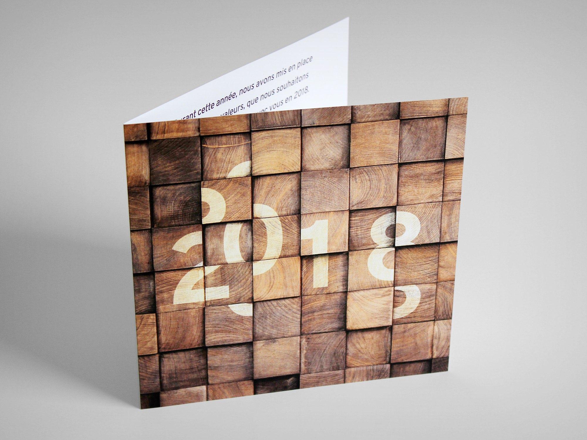 Adequaris SA – Carte de vœux par Créambule