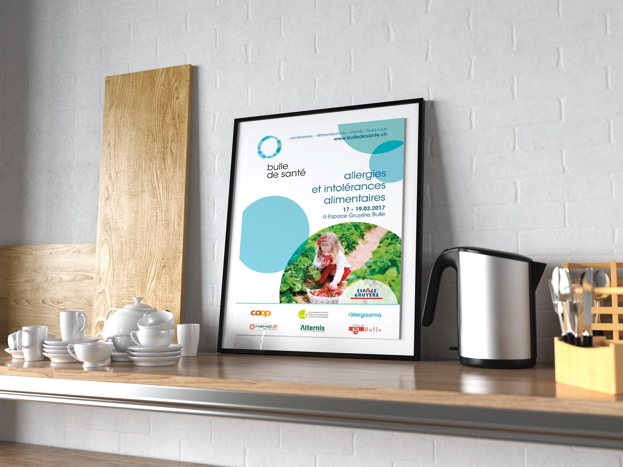 Espace Gruyère SA – Concept de communication pour «Bulle de santé» par Créambule