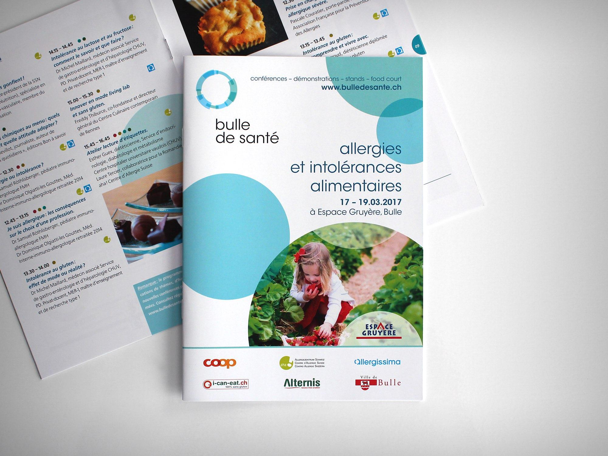 Espace Gruyère SA – Catalogue pour «Bulle de santé» par Créambule