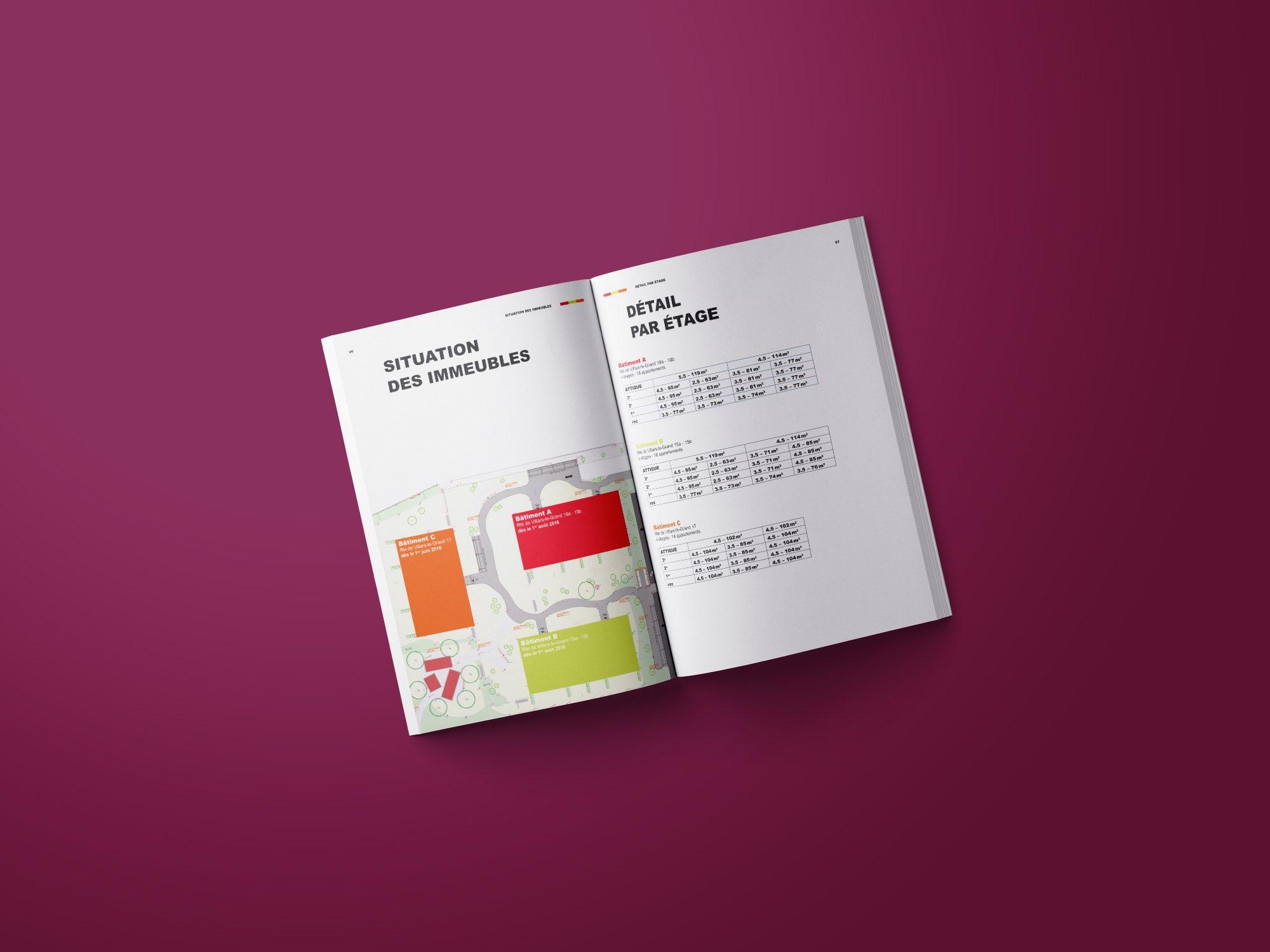 Gerama Immobilier SA – Brochure pour promotion immobilière «Au Milavy Avenches» par Créambule