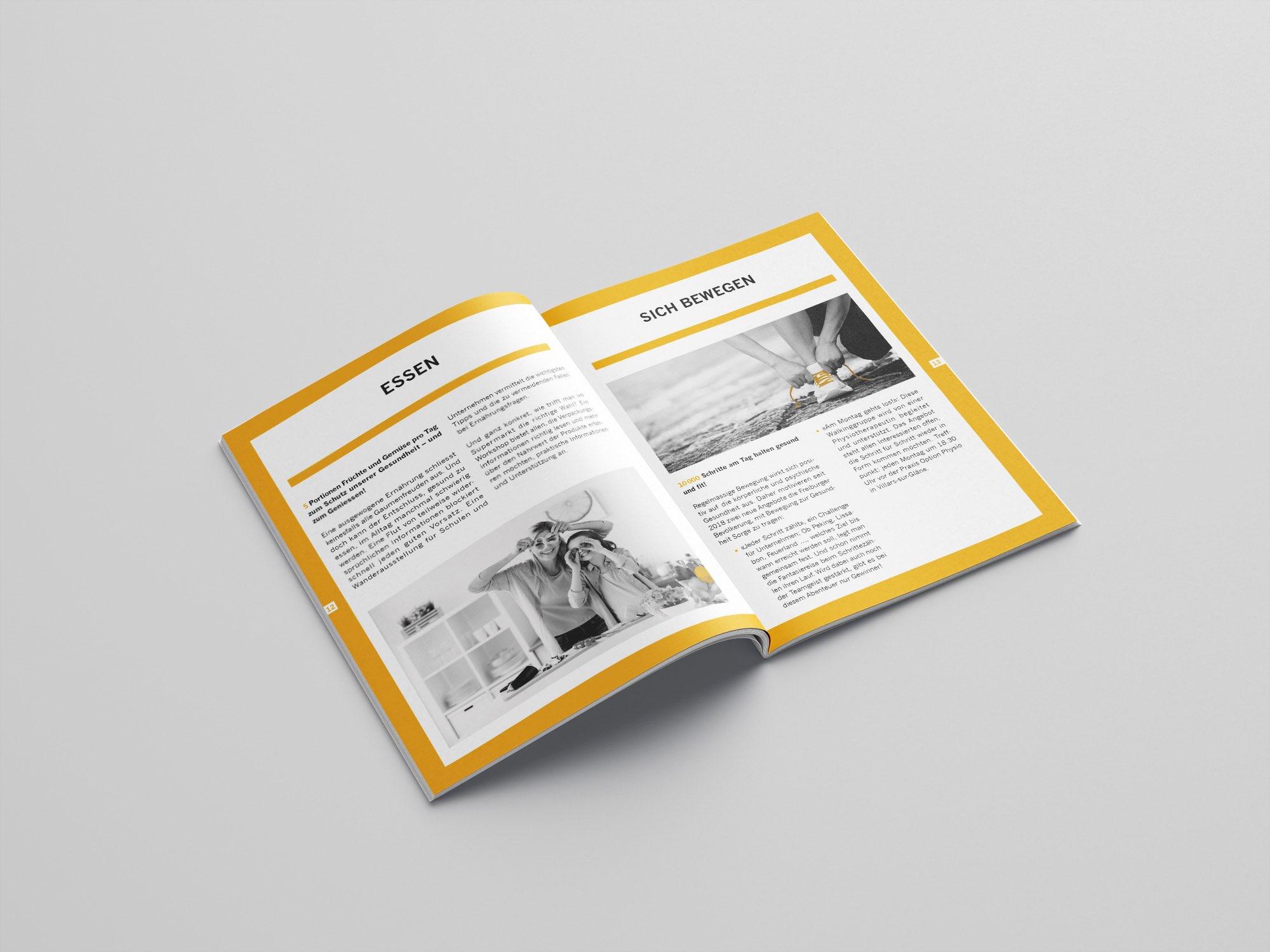 Les Ligues de Santé du canton de Fribourg – Rapport annuel par Créambule