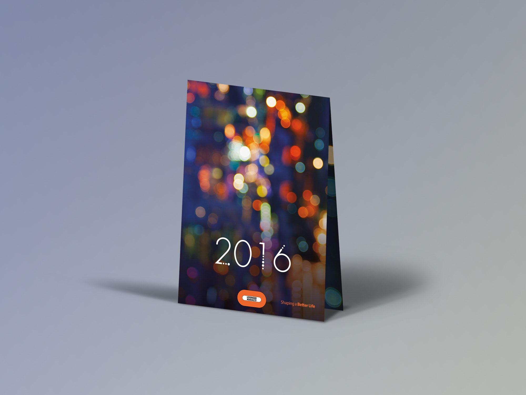 Losinger Marazzi SA – Carte de vœux par Créambule