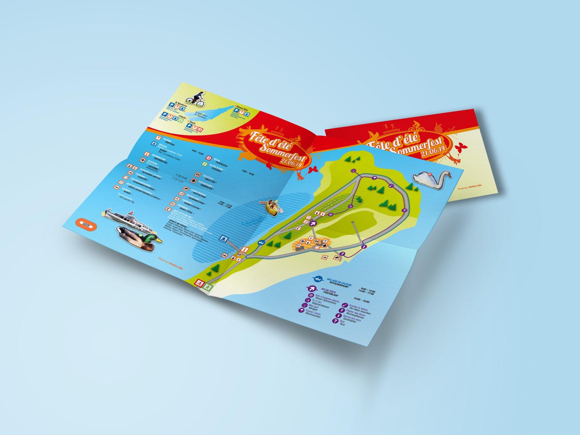 Losinger Marazzi SA – Carton d'invitation par Créambule