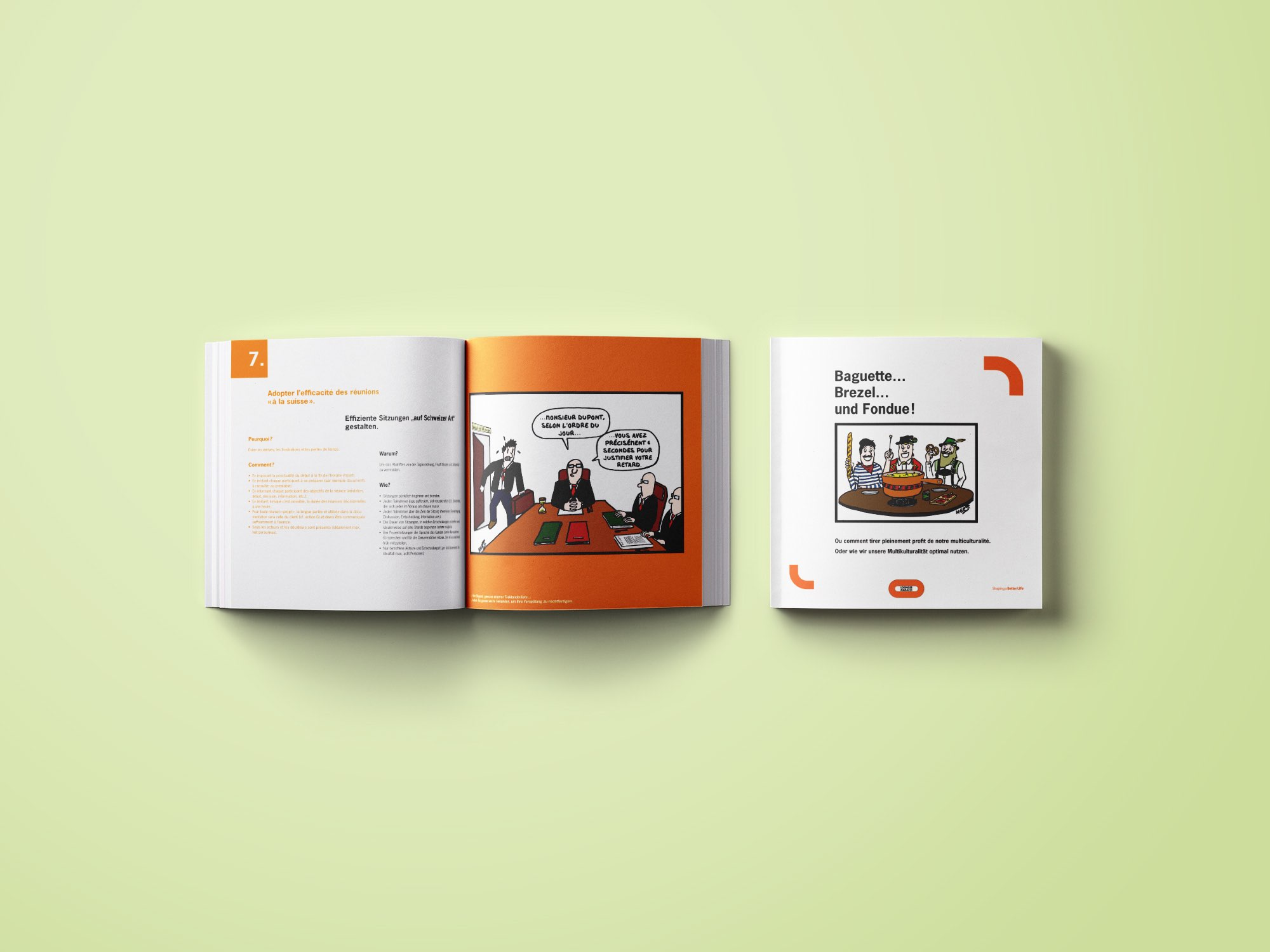 Losinger Marazzi SA – Brochure «Multiculturalité» par Créambule