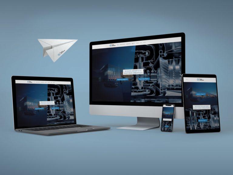 Swiss Aeropole SA - Site web par Créambule