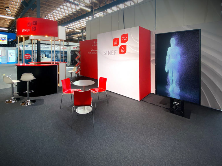 SINEF stand Aqua Pro Gaz 2020