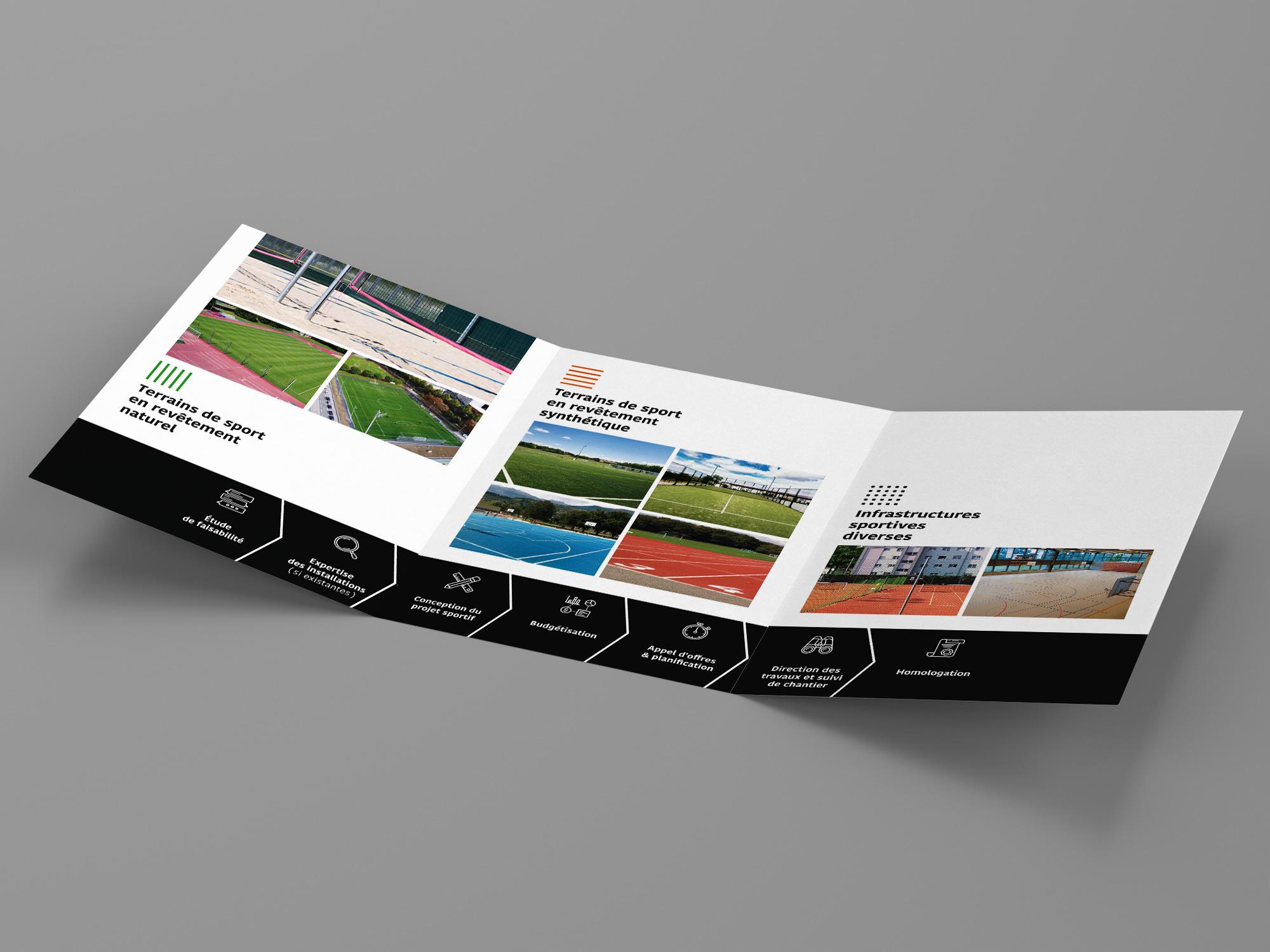 Sportfloor SA – Papeterie par Créambule